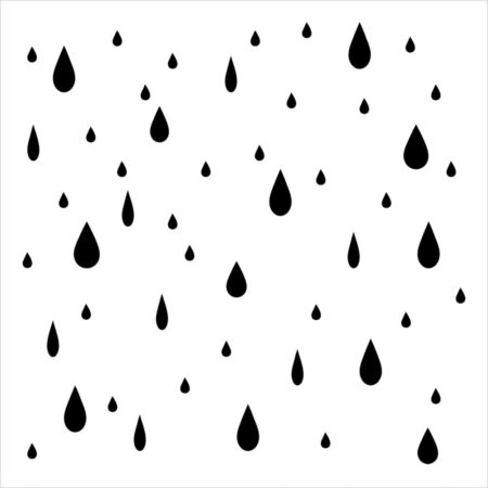 Crafter's Workshop Template - Raindrops - TCW400s