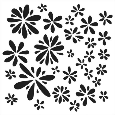 Crafter's Workshop Template - Daisy Splash - TCW552s
