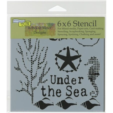 Crafter's Workshop Template - Under The Sea - TCW709s