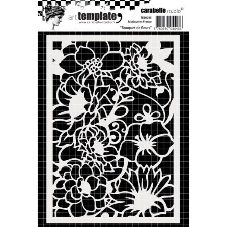 Carabelle Studio Template - Flowers Bouquet - TE60035