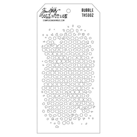 Tim Holtz - Layered Stencil - Bubble - THS002