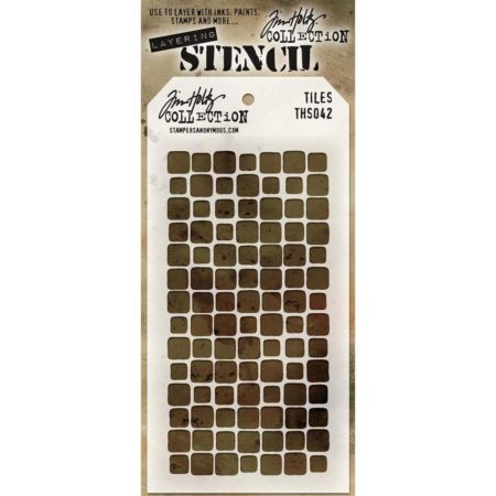 Tim Holtz - Layered Stencil - Tiles - THS042