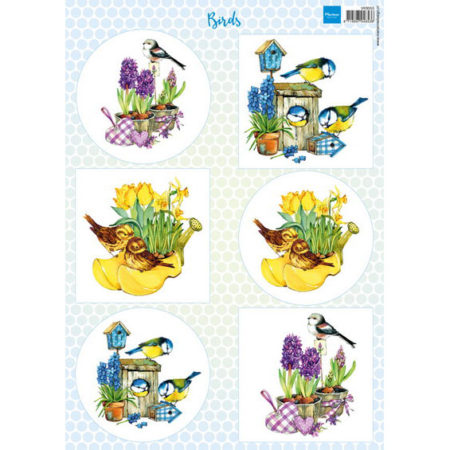 Marianne Design - 3D Ark - Birds 1 - VK9553