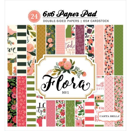 Carta Bella - Double Sided Paper - Flora No. 1 - CBFL62015