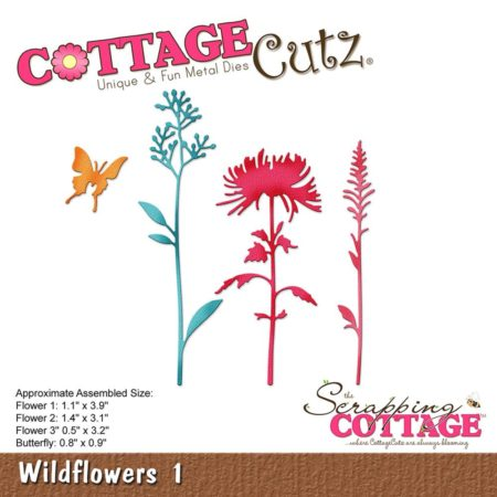 Cottage Cutz Dies - Wildflowers 1 - CC-245