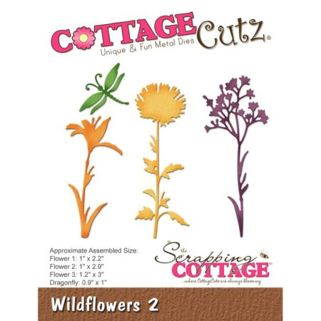 Cottage Cutz Dies - Wildflowers 2 - CC-246