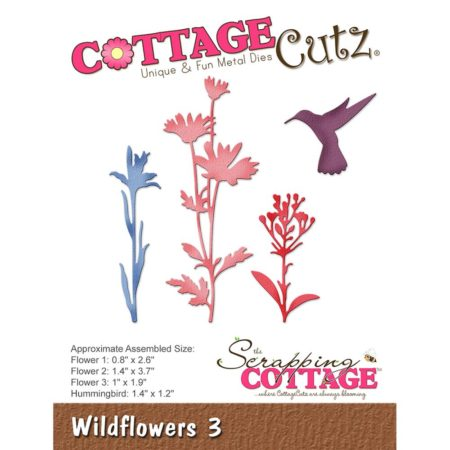 Cottage Cutz Dies - Wildflowers 3 - CC-247