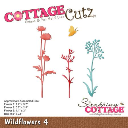 Cottage Cutz Dies - Wildflowers 4 - CC-248