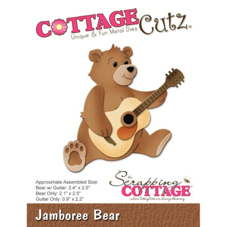 Cottage Cutz - Jamboree Bear - CC-258