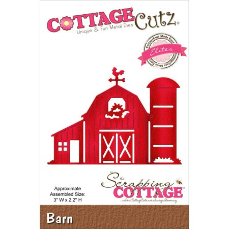 Cottage Cutz Dies - Barn - CCE-372