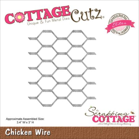 Cottage Cutz Dies - Chicken Wire - Hønsetråd - CCE373