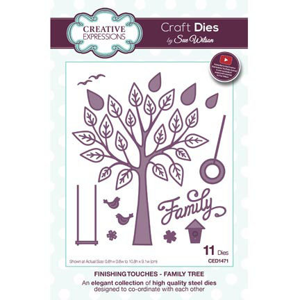 Creative Expressions - Finishing Touches - Family Tree - CED1471