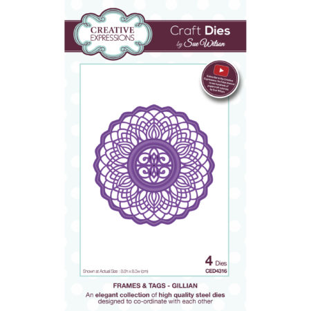 Creative Expressions - Frames & Tags - Gillian - CED4316