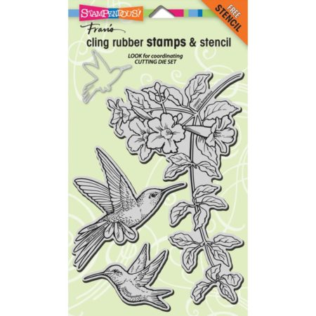 Stampendous - Cling Stamp - Hummingbirds - CRS5072