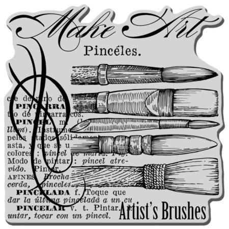 Stampendous - Cling Stamp - Artist Elements - CRW092