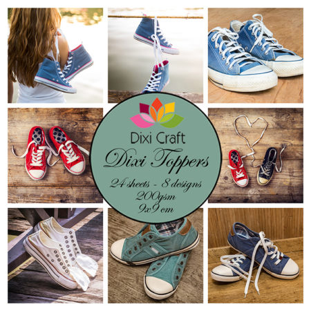 Dixi Craft Toppers -Sneakers - Farvet - ET0285