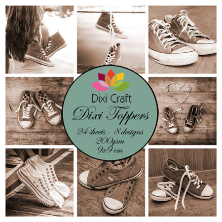 Dixi Craft Toppers -Sneakers - Brun - ET0286