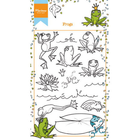 Marianne Design Stempel - HETTY'S Frogs - HT1617