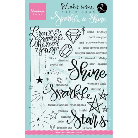 Marianne Design Stempel - Sparkle And Shine - KJ1704
