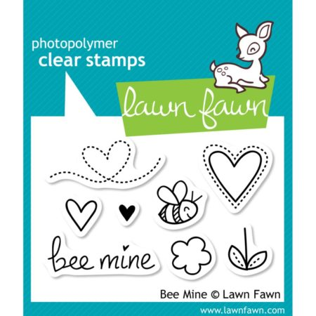 Lawn Fawn Clear Stamps - Bee Mine - LF439