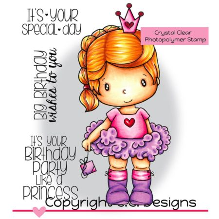 C.C. Designs – Birthday Princess - SE1194