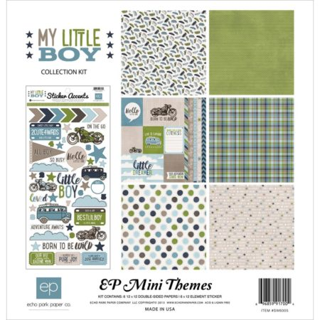 Echo Park Mini Themes - My Little Boy - SW6005
