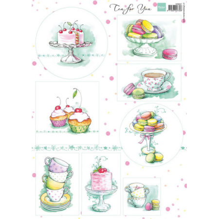 Marianne Design - 3D Ark - Tea for you 1 - VK9556