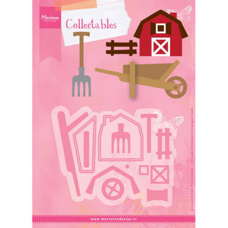 Marianne Design Dies - Farm Set - COL1427