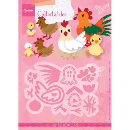 Marianne Design Dies - Chicken Family - COL1429