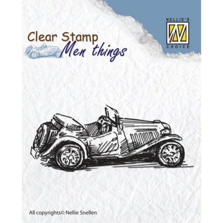 Nellie´s Choice Stempel - Men Thing – Oldtimer - CSMT005