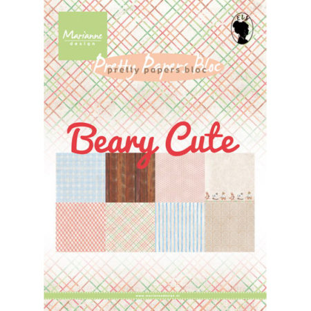 Marianne Design - Beary Cute - Pretty Papers bloc - PK9145