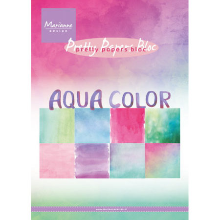 Marianne Design - Aqua Color - Pretty Papers bloc - PK9147