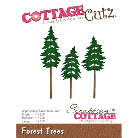 Cottage Cutz Dies - Forest Trees - CC-229