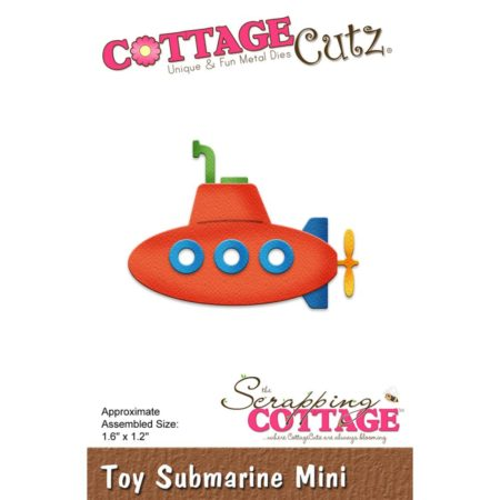 Cottagecutz Dies - Toy Submarine Mini - CC-313