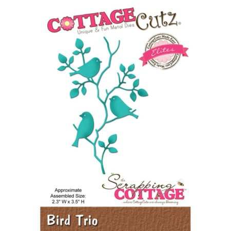 Cottage Cutz Dies - Bird Trio - CCE-411