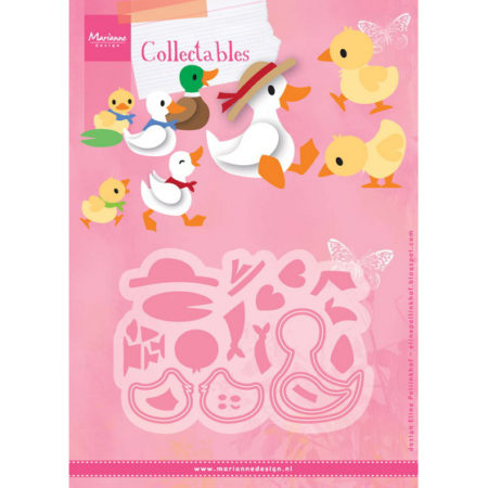 Marianne Design Dies - Duck Family - COL1428