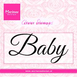 Marianne Design - Clear stamp - Baby - CS0958
