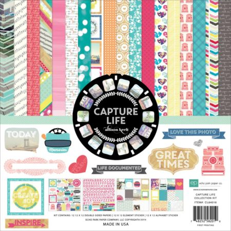 Echo Park Paper Kit - Capture Life - CL64016