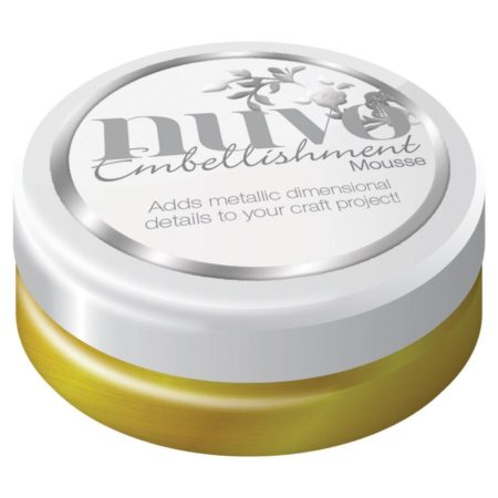 Nuvo Embellishment Mousse - Indian Gold - 802N