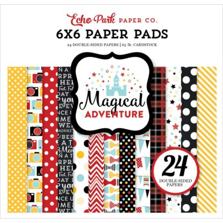 Echo Park Paper – dobbeltsidet Paper Pad – Magical Adventure - MA109023