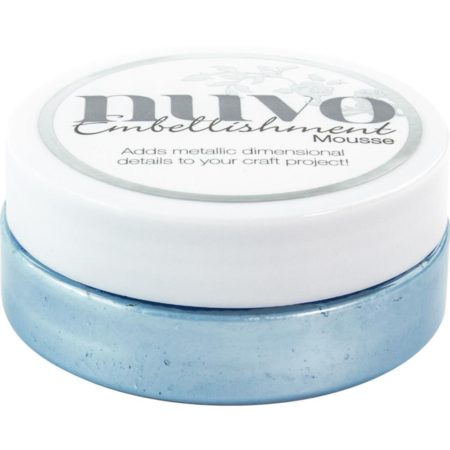 Nuvo Embellishment Mousse - Cornflower Blue - 806N
