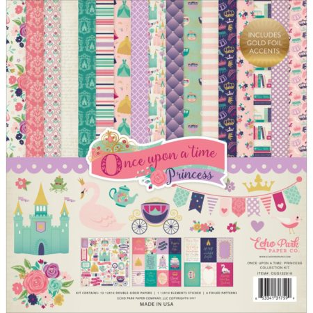 Echo Park Paper Kit - Once Upon A Time Princess - OUG22016