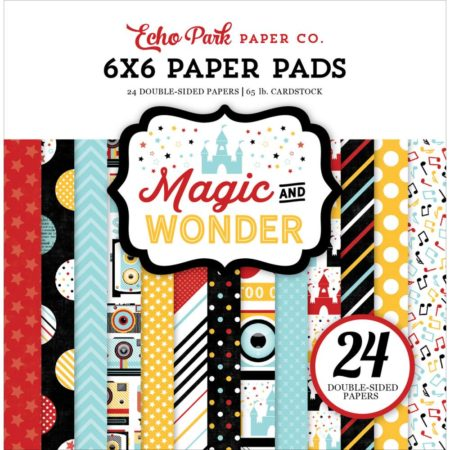 Echo Park Paper – dobbeltsidet Paper Pad – Magic & Wonder - MW124023