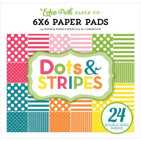Echo Park Paper - Spring Dots & Stripes - DS17082