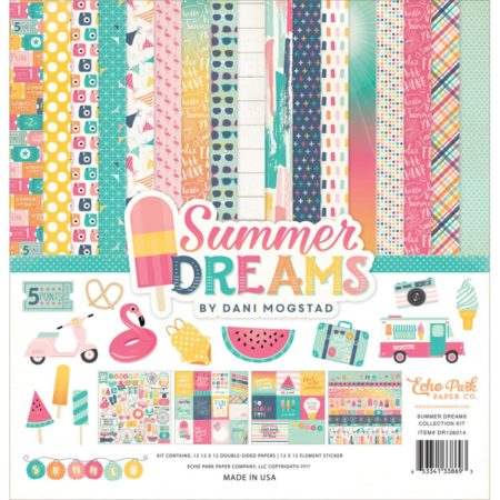 Echo Park Paper Kit - Summer Dreams - DR126016