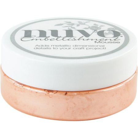 Nuvo Embellishment Mousse - Coral Calypso - 819N
