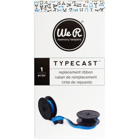 We R Typecast Typewriter Ribbon - Light Blue/Black - 310305