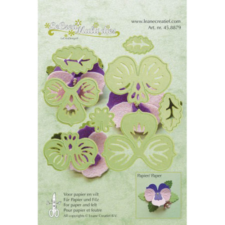Leane - Die Cut & Embossing - Multi die flower - 45.8879