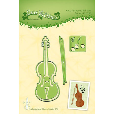 Leane - Die Cut & Embossing - Violin - 45.0799
