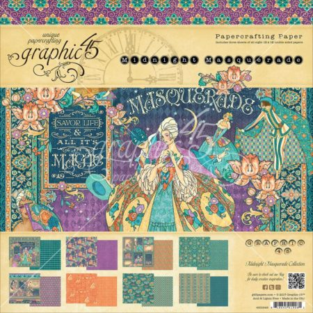 Graphic 45 - Midnight Masquerade - 4501549